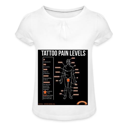 tatoo - T-shirt à fronces au col Fille