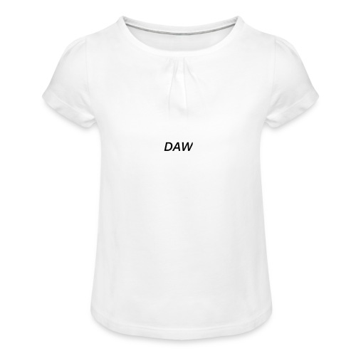 DAW - Girl's T-Shirt with Ruffles