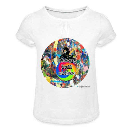 Shnydballars - Girl's T-Shirt with Ruffles