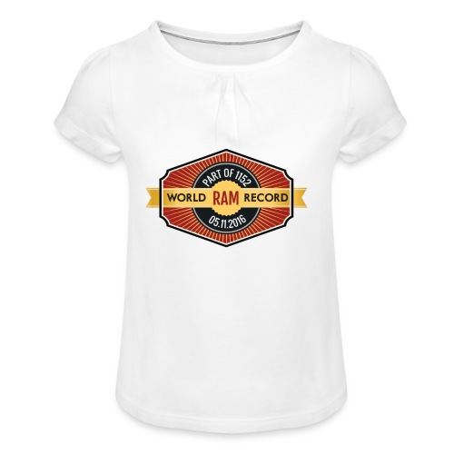 Nappo-Kids - Mädchen-T-Shirt mit Raffungen