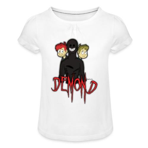'DEMOND' Tshirt (Colesy Gaming - YouTuber) - Girl's T-Shirt with Ruffles