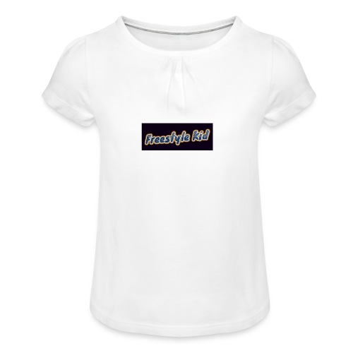 Freestyle Kid - Girl's T-Shirt with Ruffles