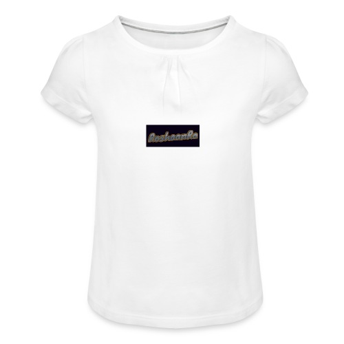 RoshaanRa Tshirt - Girl's T-Shirt with Ruffles
