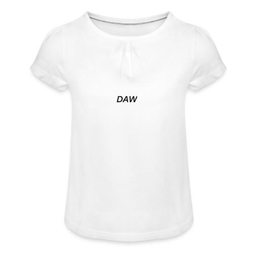 DAW - Girl's T-Shirt with Ruffles