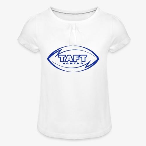 4769739 123993955 LOGO FIN RBLUE SVG orig - Tyttöjen t-paita, jossa rypytyksiä