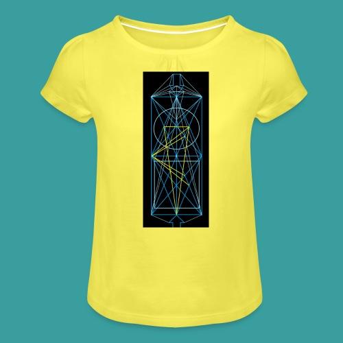 simmetria intelletuale - Maglietta da ragazza con arricciatura