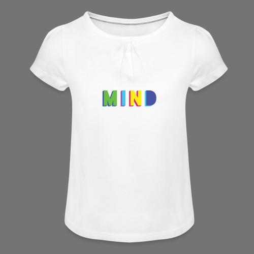 MIND Tee Shirts - Girl's T-Shirt with Ruffles