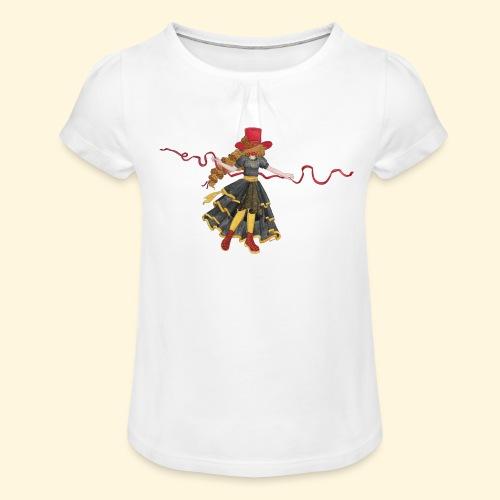 Ladybird - La célèbre uchronaute - T-shirt à fronces au col Fille