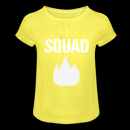 squad 2 - Meisjes-T-shirt met plooien