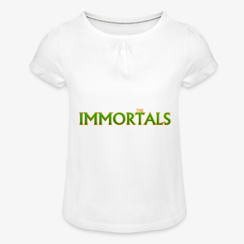 Immortals - Girl's T-Shirt with Ruffles