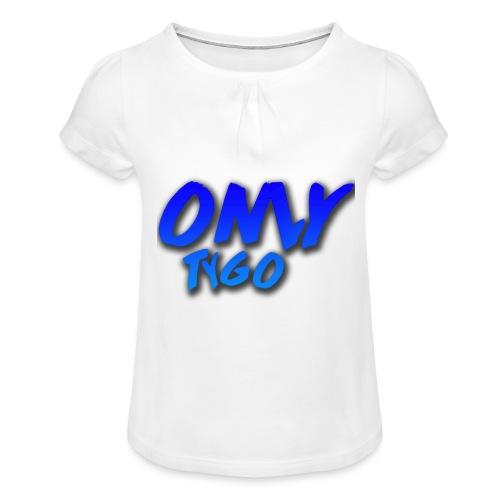 OnlyTygo - Meisjes-T-shirt met plooien