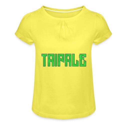 Taipale - Tyttöjen t-paita, jossa rypytyksiä