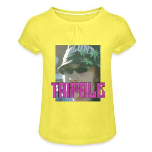 Rare Taipale - Tyttöjen t-paita, jossa rypytyksiä