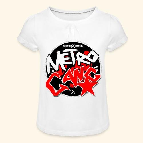 METRO GANG LIFESTYLE - Girl's T-Shirt with Ruffles