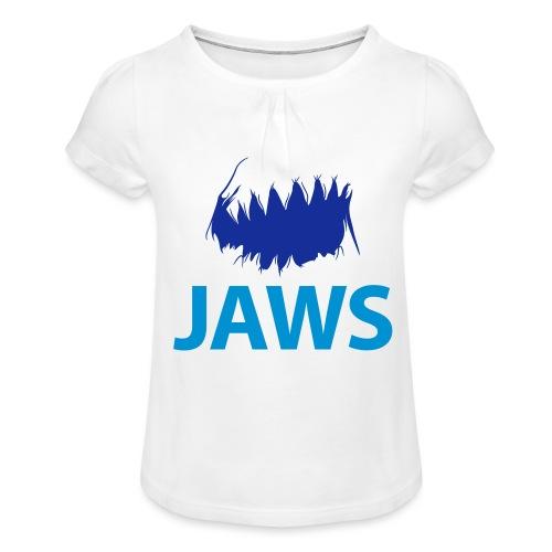 Jaws Dangerous T-Shirt - Girl's T-Shirt with Ruffles