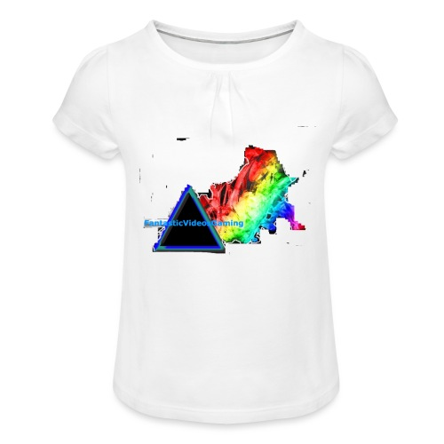FantasticVideosMerch - Girl's T-Shirt with Ruffles