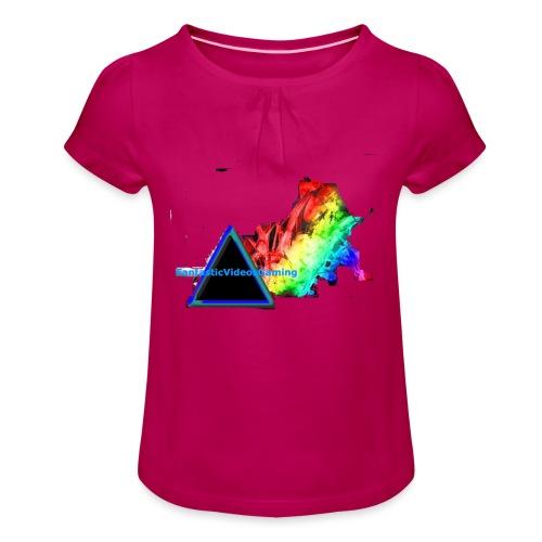 FantasticVideosMerch - Girl's T-Shirt with Ruffles