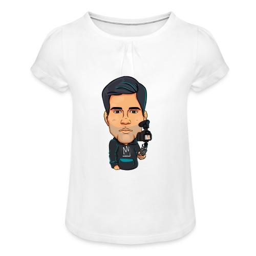 Logo By Alban - T-shirt à fronces au col Fille