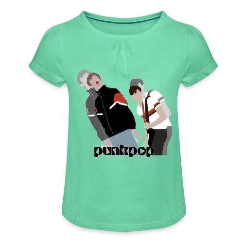 Girls and Boys PunkPop - Maglietta da ragazza con arricciatura