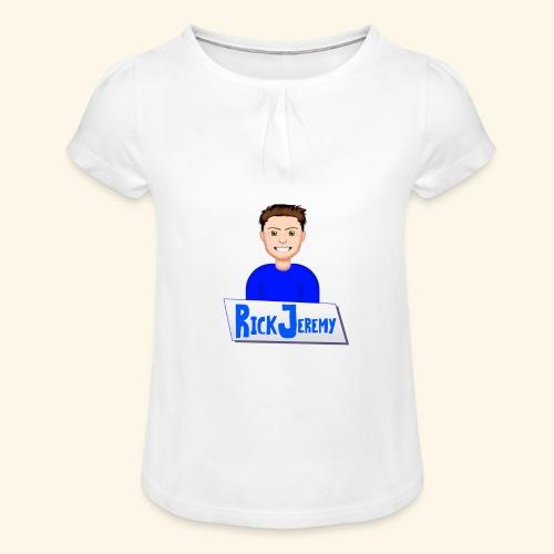RickJeremymerchandise - Meisjes-T-shirt met plooien