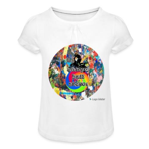Shnydballars - Girl's T-Shirt with Ruffles
