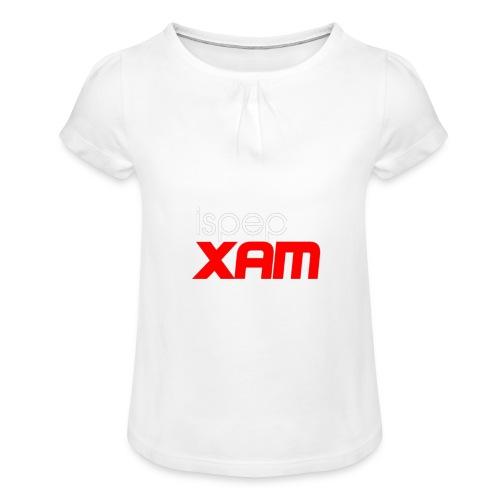 Ispep XAM - Girl's T-Shirt with Ruffles