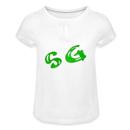 StreamGangster - Meisjes-T-shirt met plooien