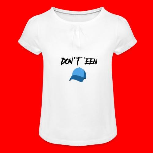 AYungXhulooo - Atlanta Talk - Don't Een Cap - Girl's T-Shirt with Ruffles
