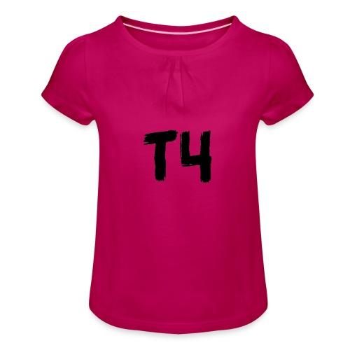 TEAM4 - Meisjes-T-shirt met plooien