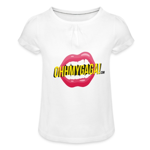 OHH MY GAGA! - Camiseta para niña con drapeado