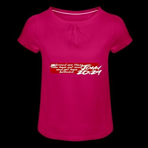 OVER REASON 2 - Camiseta para niña con drapeado