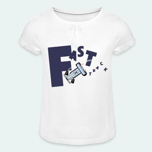 FAST Track 02 - T-shirt à fronces au col Fille