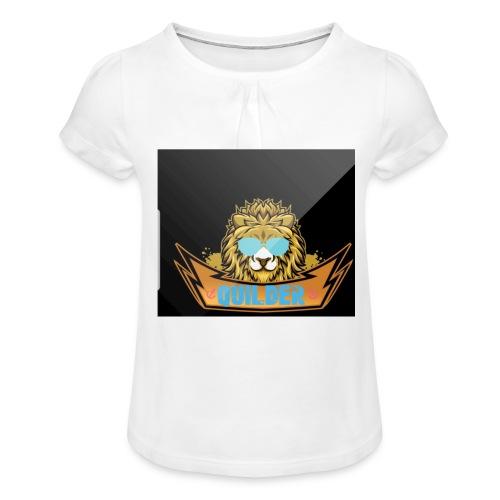 20200216 104401 - T-shirt med rynkning flicka
