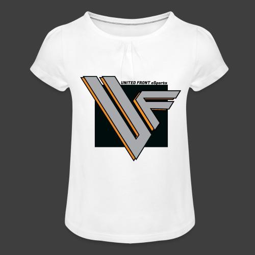 United Front - Tyttöjen t-paita, jossa rypytyksiä