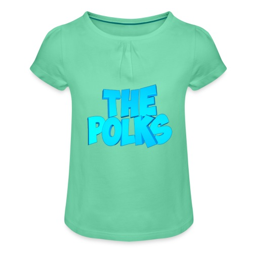 THEPolks - Camiseta para niña con drapeado