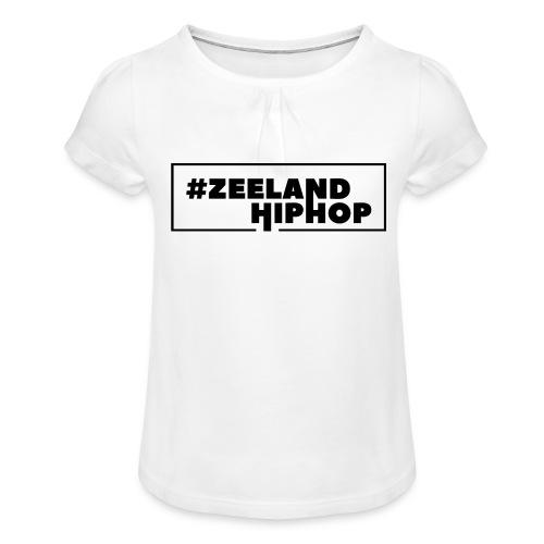 Zeeland Hiphop Kids - Meisjes-T-shirt met plooien