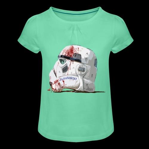 Fallen Stormtrooper - Girl's T-Shirt with Ruffles