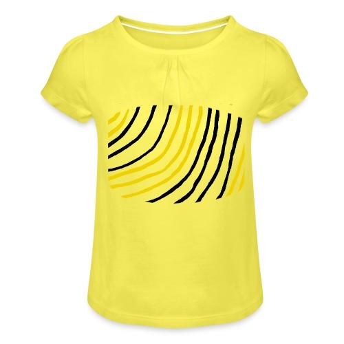 Raidat - Tyttöjen t-paita, jossa rypytyksiä