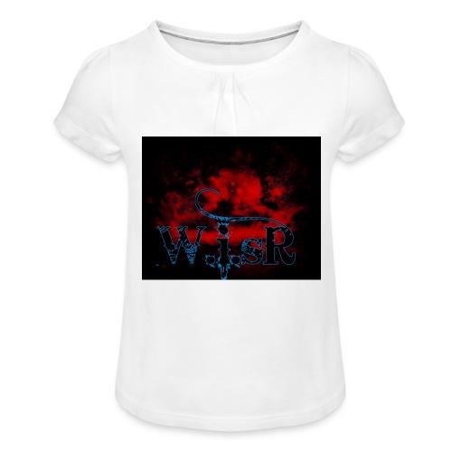 WISR Huppari - Tyttöjen t-paita, jossa rypytyksiä