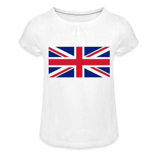 United Kingdom - Girl's T-Shirt with Ruffles
