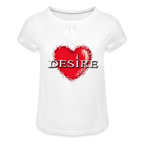 Desire Nightclub - Girl's T-Shirt with Ruffles