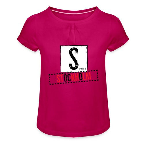 stockholm - Girl's T-Shirt with Ruffles