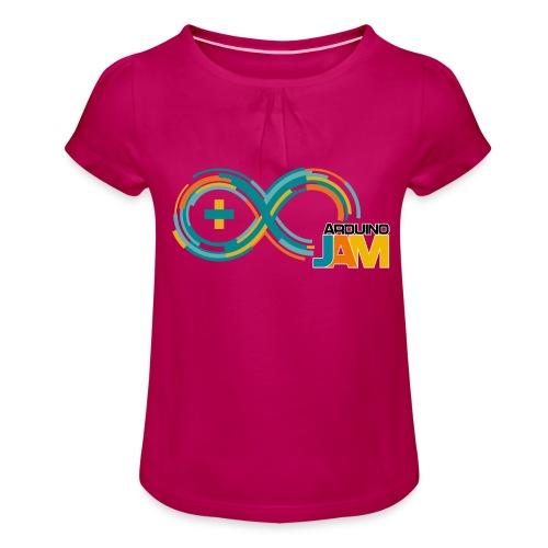 T-shirt Arduino-Jam logo - Girl's T-Shirt with Ruffles