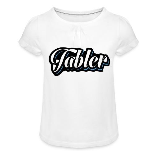 Tabler - Mädchen-T-Shirt mit Raffungen