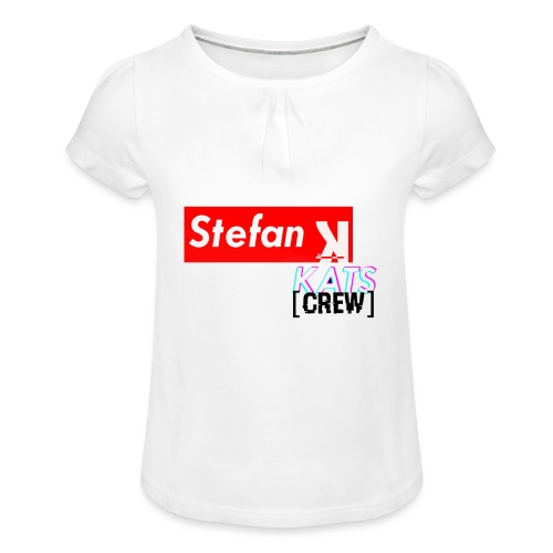 Stefan Sup - Koszulka dziewczęca z marszczeniami
