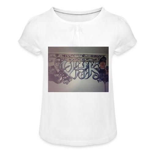 Værebro - Pige T-shirt med flæser