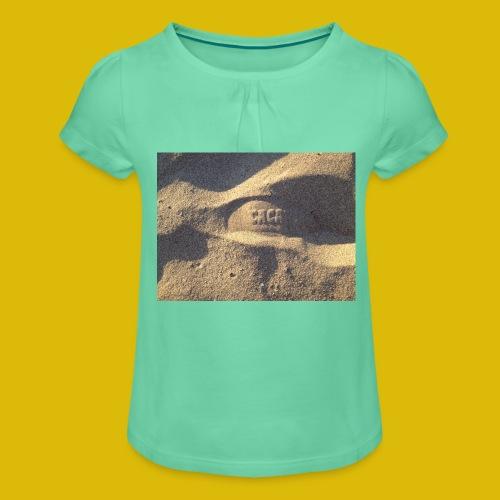 Caca - T-shirt à fronces au col Fille