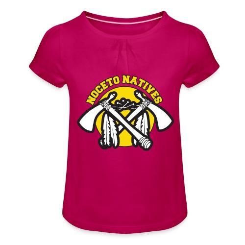 NATIVES MERCH - Maglietta da ragazza con arricciatura