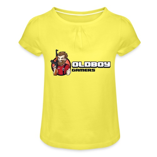 Oldboy Gamers Fanshirt - Jente-T-skjorte med frynser