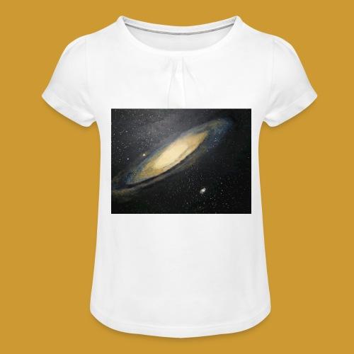 Andromeda - Mark Noble Art - Girl's T-Shirt with Ruffles